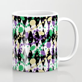 Mardi Gras Throws Coffee Mug