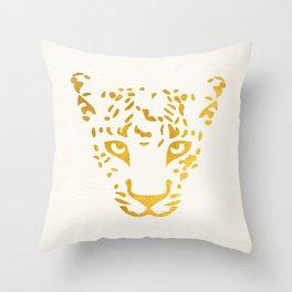 LEO FACE Throw Pillow