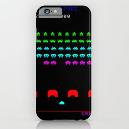 Invaders game iPhone Case
