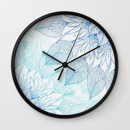 Vibe with me Wall Clock