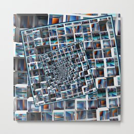 Abstract Infinity Metal Print