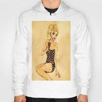bikini Hoodies featuring Bikini Blonde by Nicole Medearis