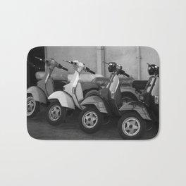 4 Scooters Bath Mat