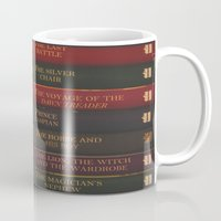 narnia Mugs featuring A Narnia Journey by Shawn King