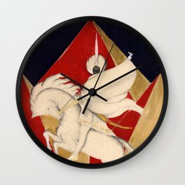 Sultan on a white horse Wall Clock