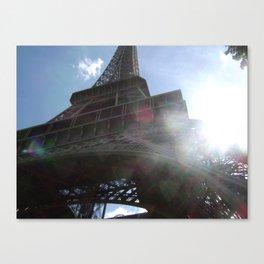 Bonjour, Paris! Canvas Print