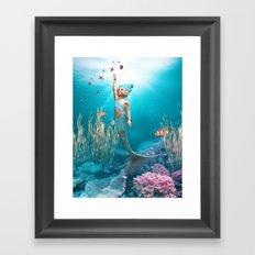 Little Mermaid Framed Art Print