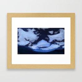 Stars Over La Noscea Framed Art Print
