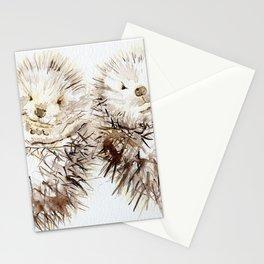 Hedgehog Cuddles Stationery Cards