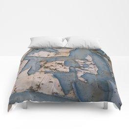 Rusty Turquoise Urban Vintage Paint Comforters