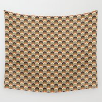 safari Wall Tapestries featuring Safari by Okopipi Design