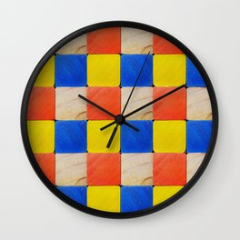 Building Blocks Wall Clock