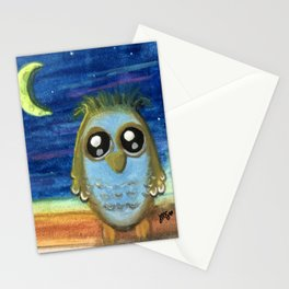 Living by the Light of the Moon Stationery Cards