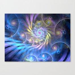 fractal: spiralling soul Canvas Print