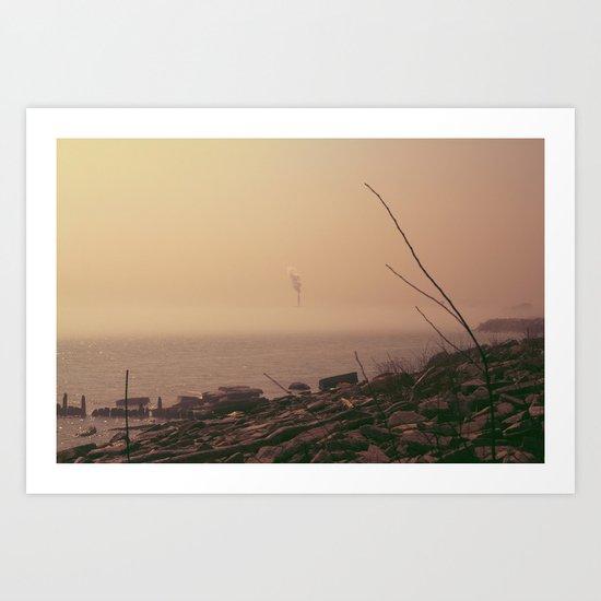 From The Haze Art Print