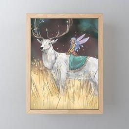 The Traveler Framed Mini Art Print