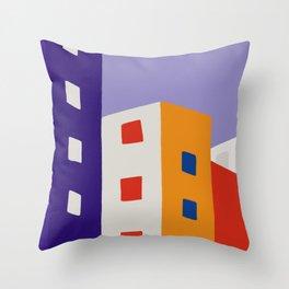 Urban Block II Throw Pillow