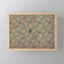 Escape Pattern Framed Mini Art Print