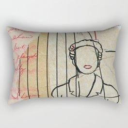 what it takes Rectangular Pillow