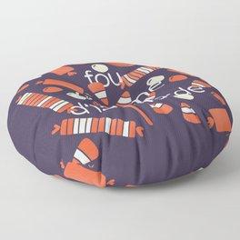 FOU COMME D'LA MARDE Floor Pillow