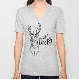 Oh Deer! Unisex V-Neck