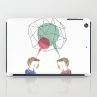 twins iPad Cases featuring Twins by Valentina Gruer