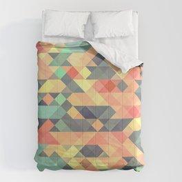 Tribal Triangles Comforters