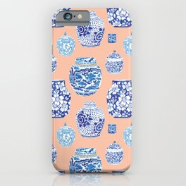 Chinoiserie Ginger Jar Collection No. 1 iPhone Case