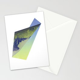 Triangle Mountains Stationery Cards