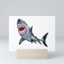 Big Shark Mini Art Print