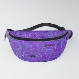 paisley paisley purple Fanny Pack