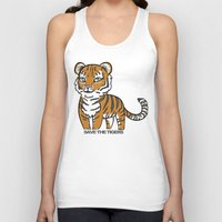 tigers Tank Tops featuring TIGERs by hoshi-kou