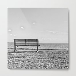Is this what lonely feels like? Metal Print
