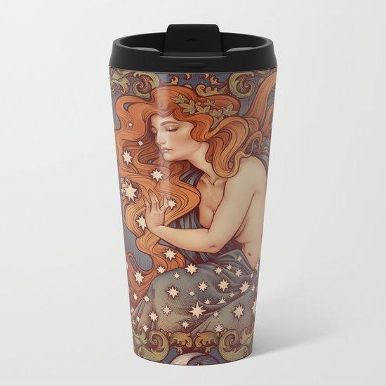 COSMIC LOVER color version Metal Travel Mug