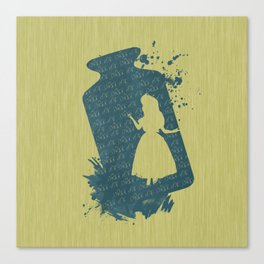 Drink me! Canvas Print