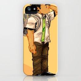 uniform and school  iPhone Case