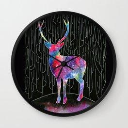 Deer's Forest Wall Clock