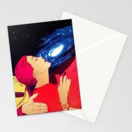 True Love - Galaxy Stationery Cards