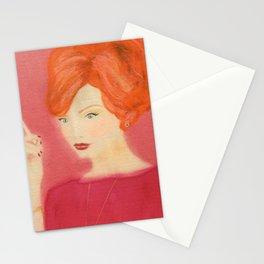 Sexy Joan Madmen Retro Art Stationery Cards