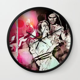For Years To Come (Part 1 of 3) Wall Clock