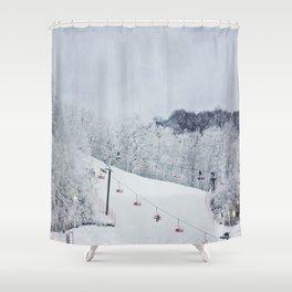 Early Morning Run Shower Curtain