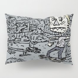 Manual pad Pillow Sham