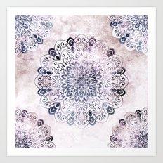 STARS MANDALA Art Print