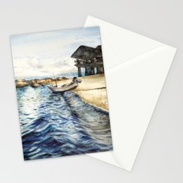 Ocean of Koh Tao island, Thailand Stationery Cards