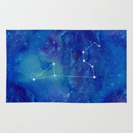 Constellation Leo Rug