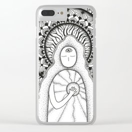 The Light Inside Clear iPhone Case