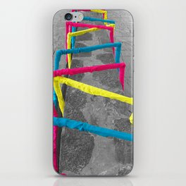 Noise Lines iPhone Skin