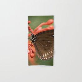 Butterfly On A Flower Hand & Bath Towel