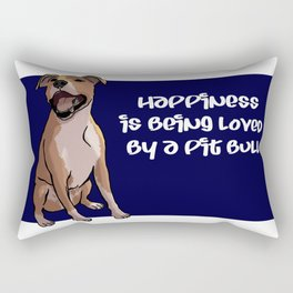 Love that Pit-Smile Rectangular Pillow