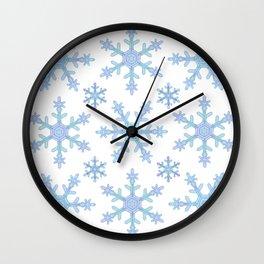 Let it Snow Mix 2 Wall Clock
